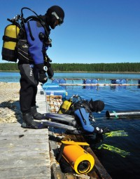 Профессиональная подготовка водолазов