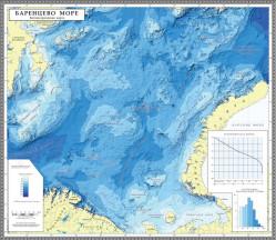 Цифровая модель рельефа дна Баренцева моря